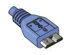 USB Micro Type B 10 Pin
