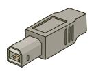USB Type B 4 Pin