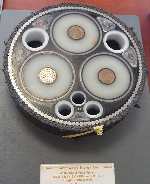 3-core XLPE Submarine cable