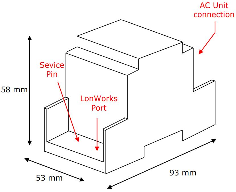 mitsubishi electric ac units to lonworks interface